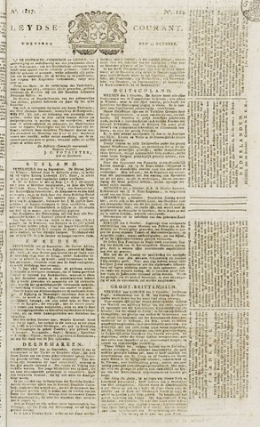 Leydse Courant 1817-10-15