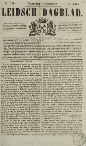 Leidsch Dagblad 1861-12-04
