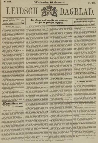 Leidsch Dagblad 1890-01-15