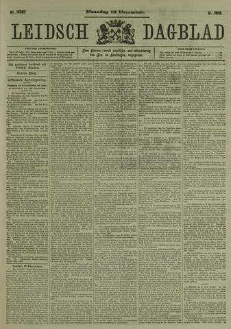 Leidsch Dagblad 1909-12-13