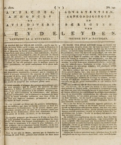 Leydse Courant 1812-11-27