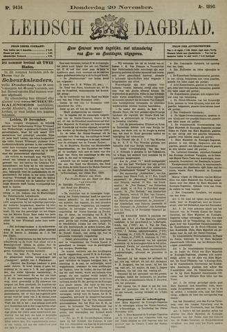 Leidsch Dagblad 1890-11-20