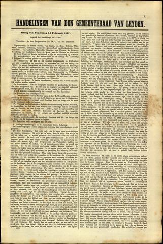 Handelingen van de Raad 1867-02-14