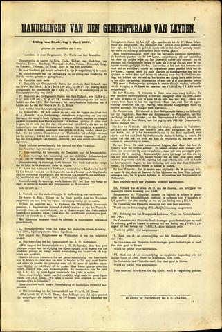 Handelingen van de Raad 1869-06-03