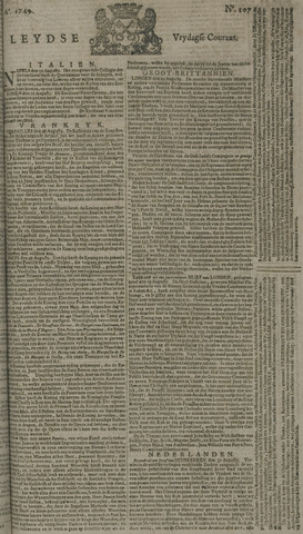 Leydse Courant 1749-09-05