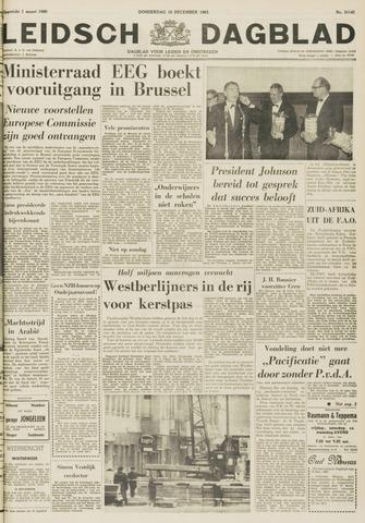 Leidsch Dagblad 1963-12-19