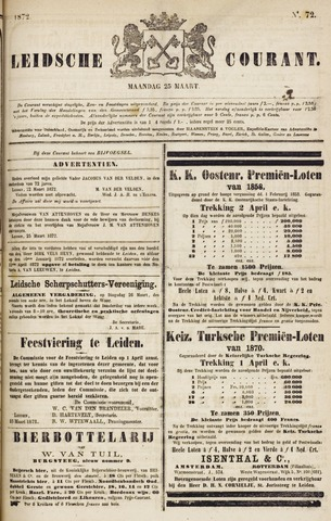 Leydse Courant 1872-03-25