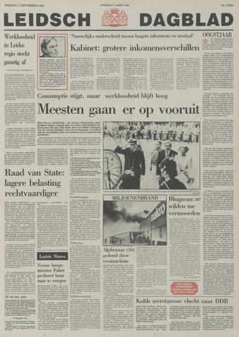 Leidsch Dagblad 1985-09-17