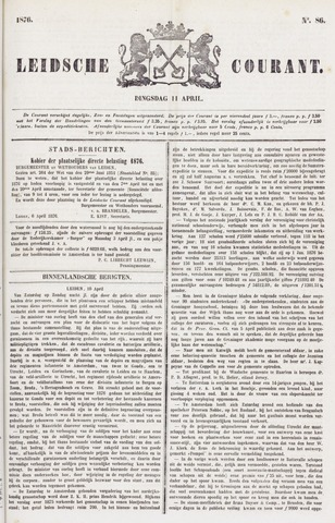 Leydse Courant 1876-04-11