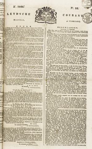 Leydse Courant 1844-02-26