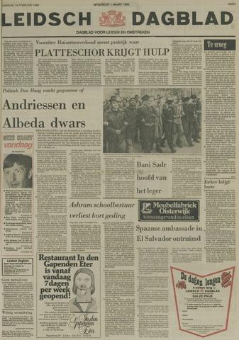Leidsch Dagblad 1980-02-19