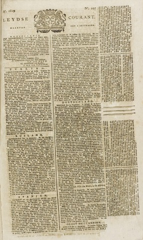 Leydse Courant 1819-09-06