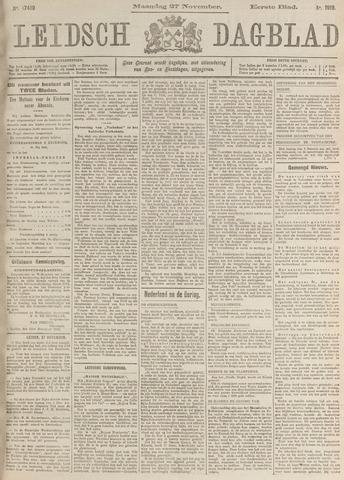 Leidsch Dagblad 1916-11-27