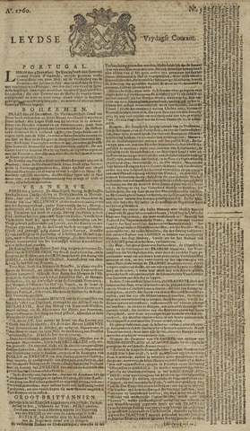 Leydse Courant 1760-01-11