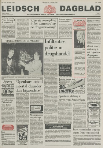 Leidsch Dagblad 1985-04-26