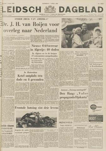 Leidsch Dagblad 1962-04-07