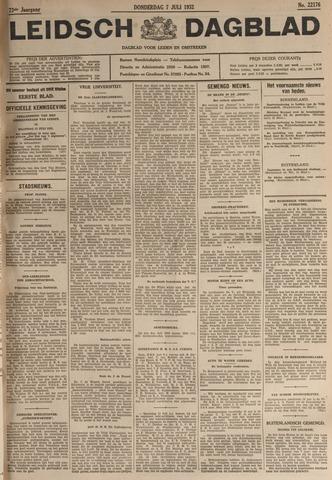 Leidsch Dagblad 1932-07-07