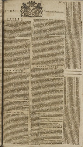 Leydse Courant 1773-02-01