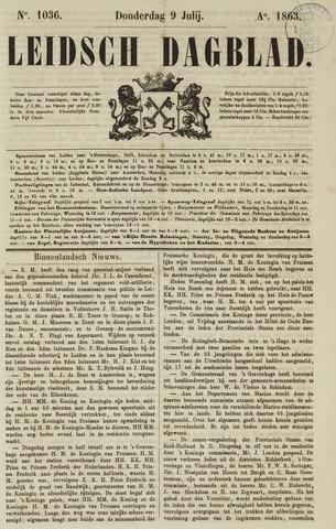 Leidsch Dagblad 1863-07-09