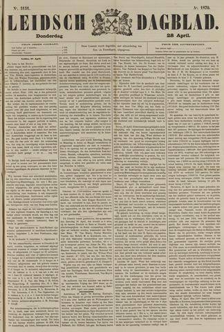 Leidsch Dagblad 1870-04-28