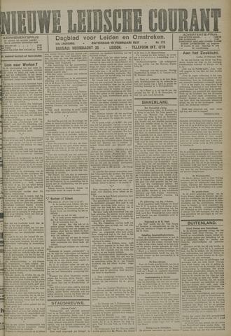Nieuwe Leidsche Courant 1921-02-19
