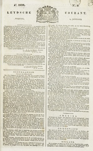 Leydse Courant 1838-01-19