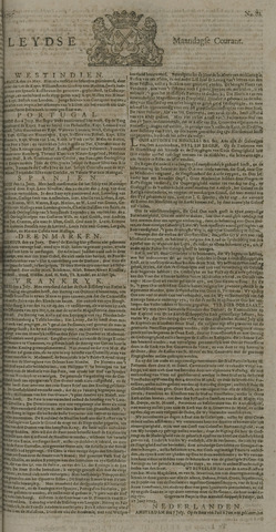 Leydse Courant 1725-07-09