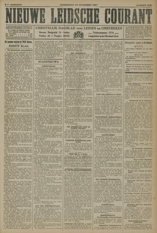 Nieuwe Leidsche Courant 1927-11-24