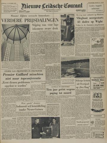 Nieuwe Leidsche Courant 1957-11-16