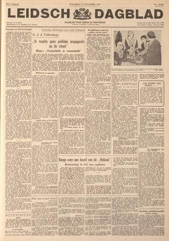 Leidsch Dagblad 1947-11-19