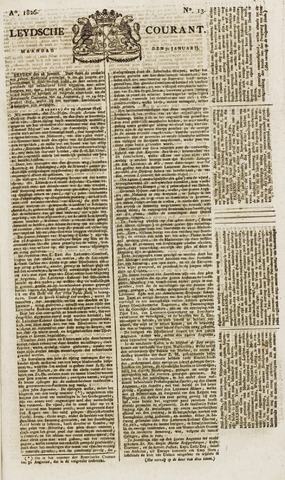 Leydse Courant 1826-01-30