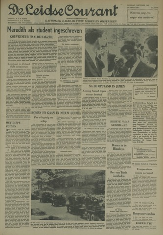 Leidse Courant 1962-10-02