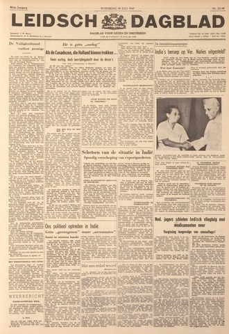 Leidsch Dagblad 1947-07-30