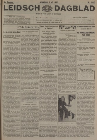 Leidsch Dagblad 1937-05-05