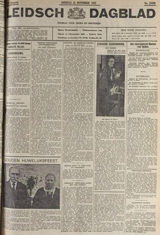 Leidsch Dagblad 1933-11-21
