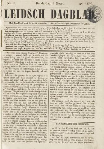 Leidsch Dagblad 1860