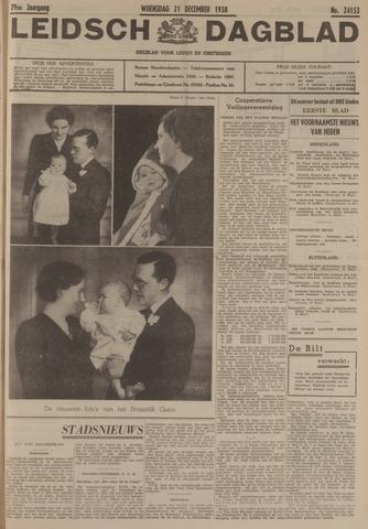 Leidsch Dagblad 1938-12-21