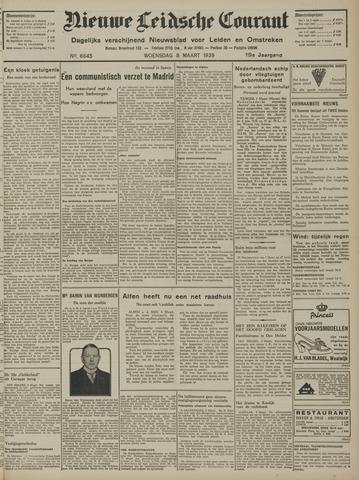 Nieuwe Leidsche Courant 1939-03-08