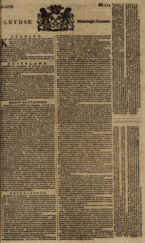 Leydse Courant 1779-09-13