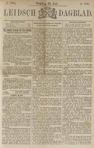 Leidsch Dagblad 1885-07-31