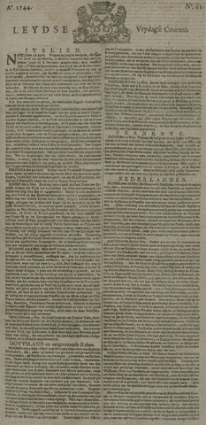 Leydse Courant 1744-05-22