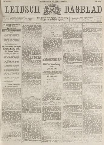 Leidsch Dagblad 1915-11-18