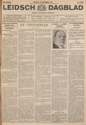 Leidsch Dagblad 1932-09-20