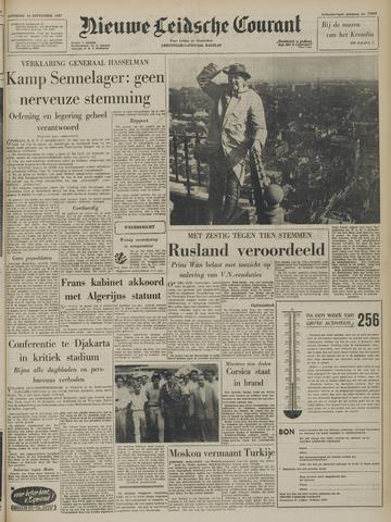 Nieuwe Leidsche Courant 1957-09-14