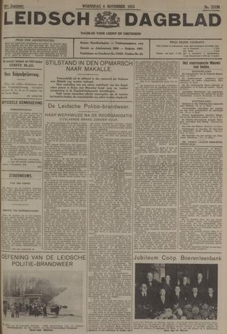 Leidsch Dagblad 1935-11-06