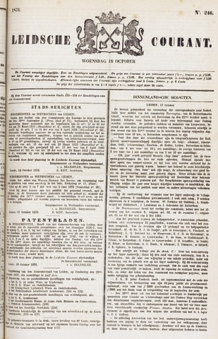 Leydse Courant 1876-10-18