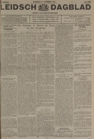 Leidsch Dagblad 1935-11-27