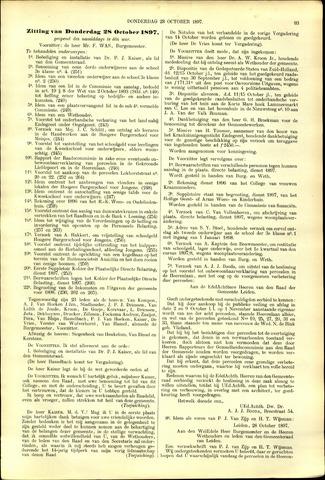 Handelingen van de Raad 1897-10-28