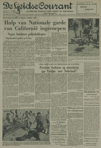 Leidse Courant 1965-08-14