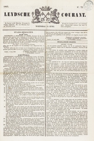 Leydse Courant 1865-06-14